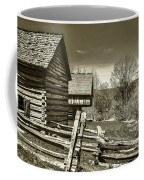 Smoky Mt Homestead - B W Coffee Mug