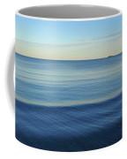 Smooth Blue Water On The Lynn Waterfront Coffee Mug