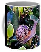 Snail On A Bush Version 2 Coffee Mug