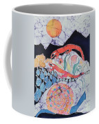 Snail With Red Efts Coffee Mug