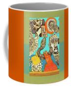 Snake And Skull Coffee Mug