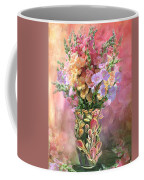 Snapdragons In Snapdragon Vase Coffee Mug