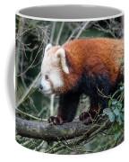 Sneaky Red Panda Coffee Mug