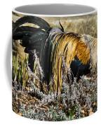 Sneeking Rooster Coffee Mug