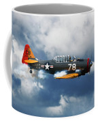 Snj-5  Texan T-6  Smoke On Coffee Mug