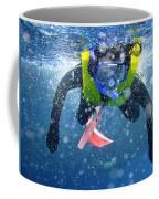 Snorkeling At The Great Barrier Reef Coffee Mug