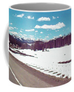 Snow And The Open Road Coffee Mug