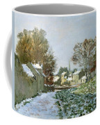Snow At Argenteuil Coffee Mug