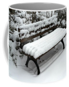 Snow Bench Coffee Mug
