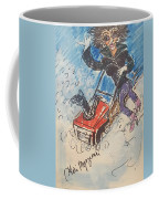 Snow Blowing Coffee Mug