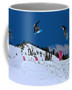 Snow Boarder Coffee Mug