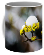 Snow Capped Flower Coffee Mug
