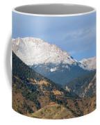 Snow Capped Pikes Peak Colorado Coffee Mug