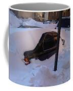 Snow Car Coffee Mug
