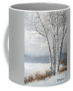 Snow Coming Into The South Shore  Coffee Mug