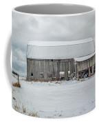Snow Covered Barn Coffee Mug