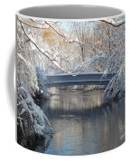 Snow Covered Bridge Coffee Mug