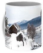 Snow Covered Cabin Coffee Mug