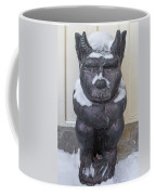 Snow Covered Chimera Coffee Mug by D K Wall