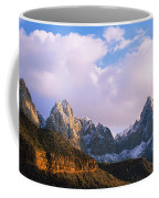 Snow Covered Mountain Range, The Coffee Mug
