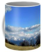 Snow Covered Mountains Coffee Mug