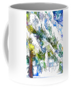 Snow-covered Tree Branch  3 Coffee Mug