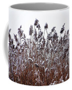 Snow Covered Wild Grass Coffee Mug
