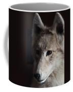Snow Coyote Coffee Mug