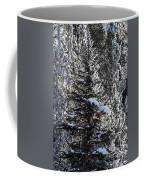 Snow Flocked Pines One Coffee Mug