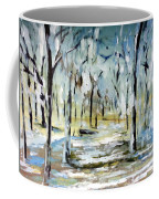 Snow Forest Coffee Mug