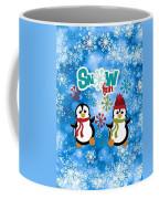 Snow Fun Penguins Coffee Mug