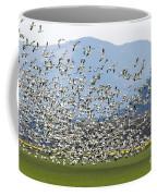 Snow Geese Exodus Coffee Mug