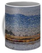 Snow Geese Landing Coffee Mug
