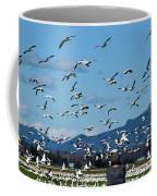 Snow Geese Rising Coffee Mug