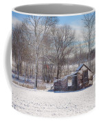 Snow In Plymouth Meeting Coffee Mug