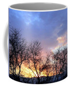 Snow In The Distance Coffee Mug