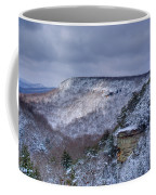 Snow In The Mountains Coffee Mug