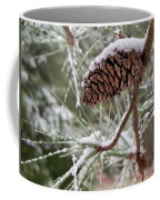 Snow In The Pines Coffee Mug