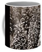 Snow-laden Forest Coffee Mug