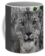 Snow Leopard 5 Posterized Coffee Mug