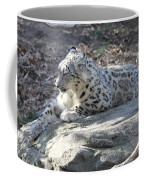 Snow-leopard Coffee Mug