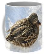 Snow Mallard Coffee Mug