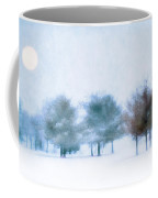 Snow Moon Coffee Mug by Darren Fisher