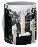 Snow On The Angels  Coffee Mug