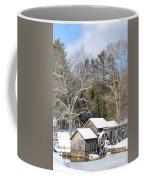 Snow On The Mill 2 Coffee Mug