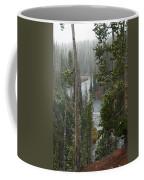 Snow On The Yellowstone River Coffee Mug