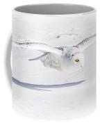 Snow Owl Glide Coffee Mug