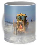 Snow Plowing Coffee Mug