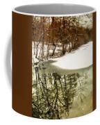 Snow Pond Coffee Mug