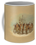 Snow Shoe Dance. Ojibbeway Coffee Mug